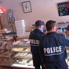 """The owners of Cops & Doughnuts say the Clare-based, police-owned bakery made Fat Tuesday history by taking paczki delivery orders from all 50 states and Washington, D.C.  """"It's bigger than what I thought,"""" said Greg """"Ryno"""" Rynearson, co-owner and president of Cops & Doughnuts, noting that the bakery will be shipping the delectable Fat Tuesday treats to about 300 locations across the country."""
