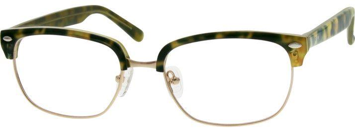 Zenni Optical Mens Rimless Glasses : 5354 Acetate Full-Rim Frame Style Pinterest
