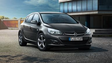 Opel Astra drive!