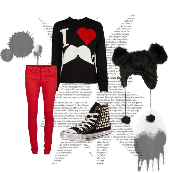 I love Mostaches by julietapolvora on Polyvore