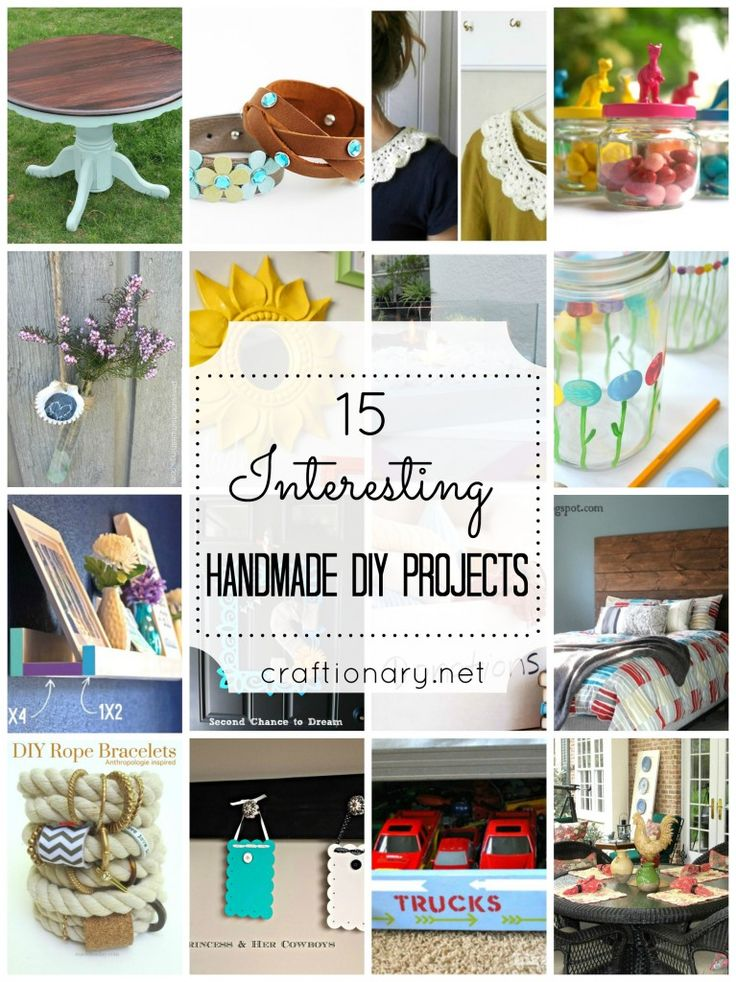 15 Interesting DIY Projects