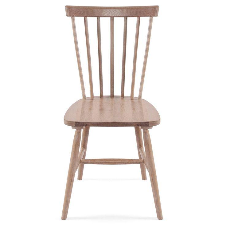 Wood H17 Stuhl Mit Stäbchenlehne, Eiche - Department - Department - RoyalDesign.de