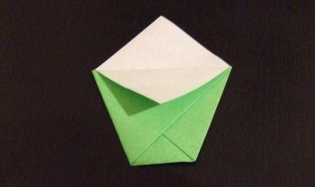 Pochettes à graines en Origami - U.S.S. BOTANY BAY