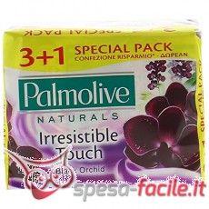 PALMOLIVE SAPONE 90GR ORCHIDEA NERA 4 PEZZI Il sapone classico di Palmolive, apprezzato e usato da decenni. Contiene oli naturali per prendersi cura della tua pelle. Arricchito con orchidea nera. http://www.spesa-facile.it/prodotti/palmolive