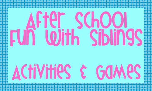 The Educators' Spin On It: Afterschool Express: Making Time for Siblings