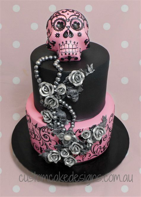 25 Best Ideas About Sugar Skull Cakes On Pinterest