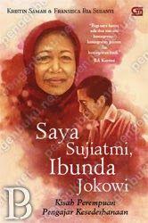 Buku ini adalah sebuah sketsa tentang perempuan yang menemani Jokowi, saat ia masih berupa janin dalam kandungan hingga kini duduk sebagai gubernur DKI Jakarta. Nilai-nilai kesederhanaan, sifat jujur dan tidak serakah yang dihidupinya, semoga dapat menginspirasi lebih banyak lagi keluarga di Indonesia sehingga kelak akan muncul pemimpin-pemimpin baru yang jujur dan dapat dibanggakan.