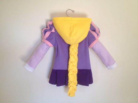 Disney Princess Tangled Inspired Rapunzel Fleece Girls hoodie shirt (Child sizes) on Etsy, $117.47 AUD