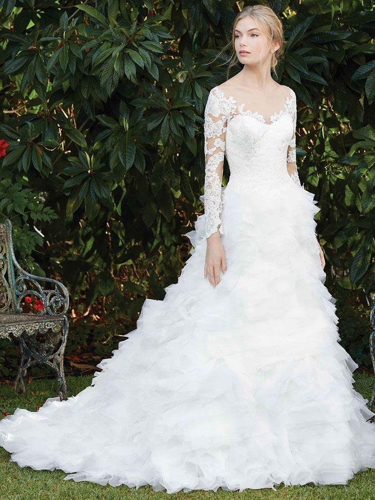 11 besten Casablanca Bridal Bilder auf Pinterest | Hochzeitskleider ...