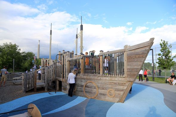 The best playgrounds in TO