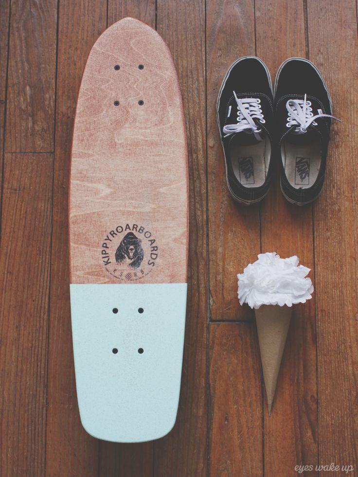 My Kippy Skateboards, Mint choc paddle pop // © eyeswakeup.com  #skateboard
