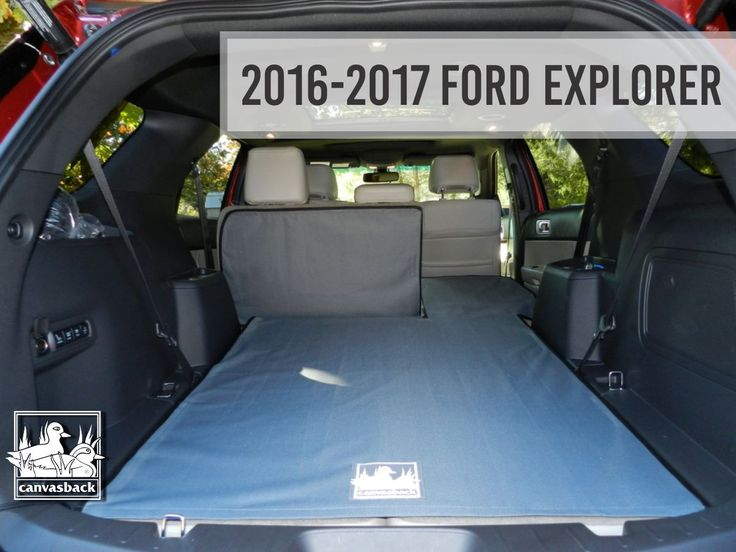 #makesandmodelsmonday goes to our 2016-2017 Ford Explorer! Shop canvasback.com  #canvasback Ford Motor Company #ford #fordexplorer #cargoliner #cargoliners #shop #availablenow #onlineshopping #handmade #madeintheusa #usamade #usa #handsewn #quality #mondaymotivation