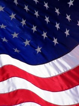 Beautiful picture of the flag.  Lee Greenwood singing  God Bless the USA (Live in 1985)