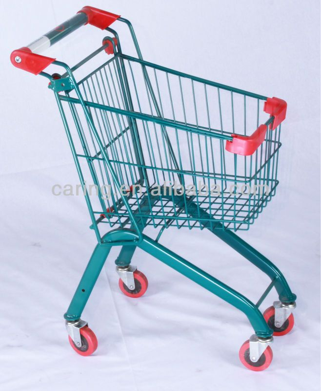 Kids Metal Shopping Trolley With A Flag - Buy Kids Metal Shopping ...