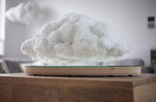 Esta nuvem é uma caixa de som (e sim, ela está realmente flutuando no ar)