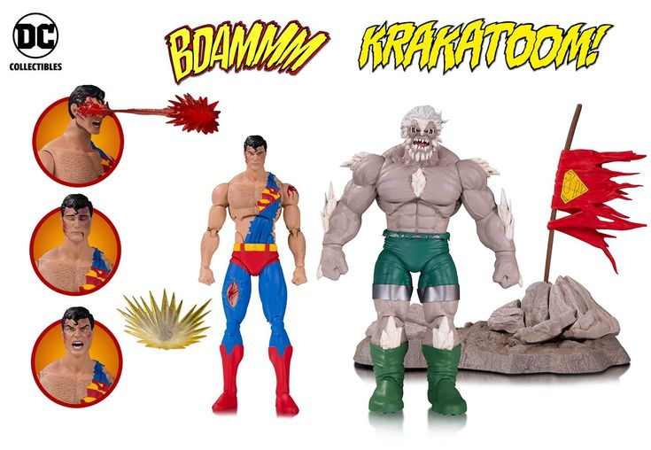 View our latest addition to our website Superman vs Dooms... here http://dbtoystore.com/products/the-death-of-superman-dc-comics-icons-deluxe-action-figure-2-pack?utm_campaign=social_autopilot&utm_source=pin&utm_medium=pin