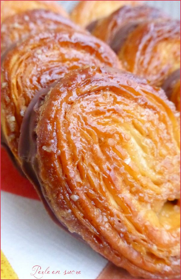 Palmiers (avec option nappage chocolat !)
