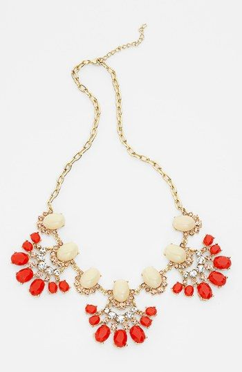 Tildon 'Vintage Floral' Statement Necklace available at #Nordstrom
