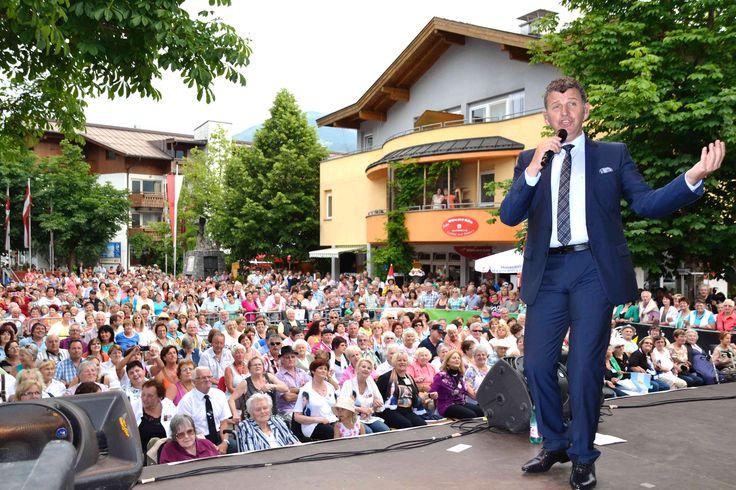 Kaiserwinkl Benefizkonzert zu Gunsten der Hochwasseropfer in Kössen. #Semino Rossi