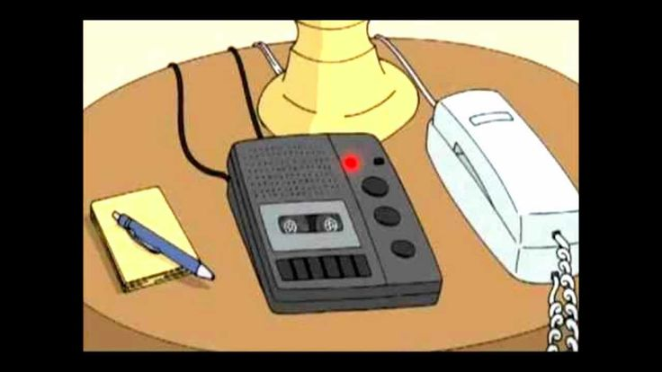 Family Guy- Alan Rickman Answer Phone