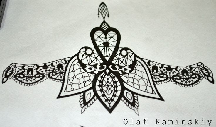 эскиз под грудь dotwork, linework, ornamental geometry linework