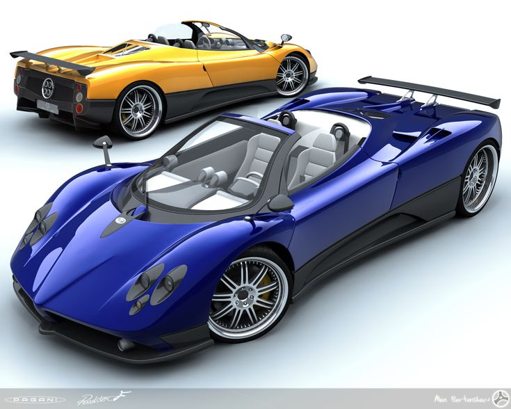 Good Pagani Zonda F Roadster