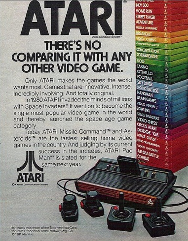 Atari ad! #atari    quote: there's no comparing it with any other video game!!    http://1tucan.com/river-raid-app-river-raid-iphone-river-raid-iphone.php#
