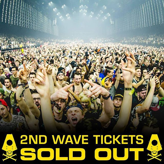 Second Wave tickets are all sold out! VIP tickets are all sold out! Final Wave tickets are now available and they are in short supply: - 400 Saturday tickets - 800 Combi tickets - 800 Friday tickets HYPE!! -> tix: link in bio!
