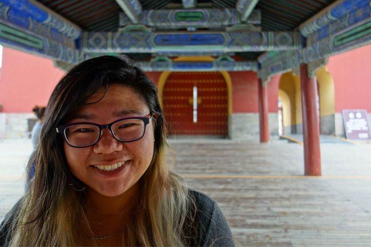 Gator Tina studied abroad in Hong Kong. #SFSU