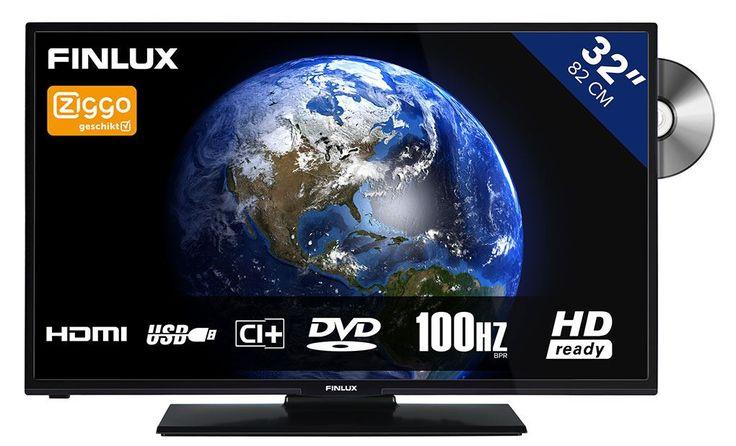 Finlux FL3222  Description: Finlux FL3222: 32 inch HD Ready LED tv De Finlux FL3222 is een mooie compacte en prettige televisie voor in de woonkamer keuken of andere ruimte in huis. Vanwege het compacte formaat is deze Finlux FL3222 HD Ready tv ook ideaal voor in de slaapkamer studentenkamer speelkamer et cetera. Deze televisie is een LED tv met ingebouwde DVB-T en DVB-C tuner. De FL3222 van Finlux is dankzij de diverse aansluitingen geschikt voor gebruik in combinatie met andere multi-media…