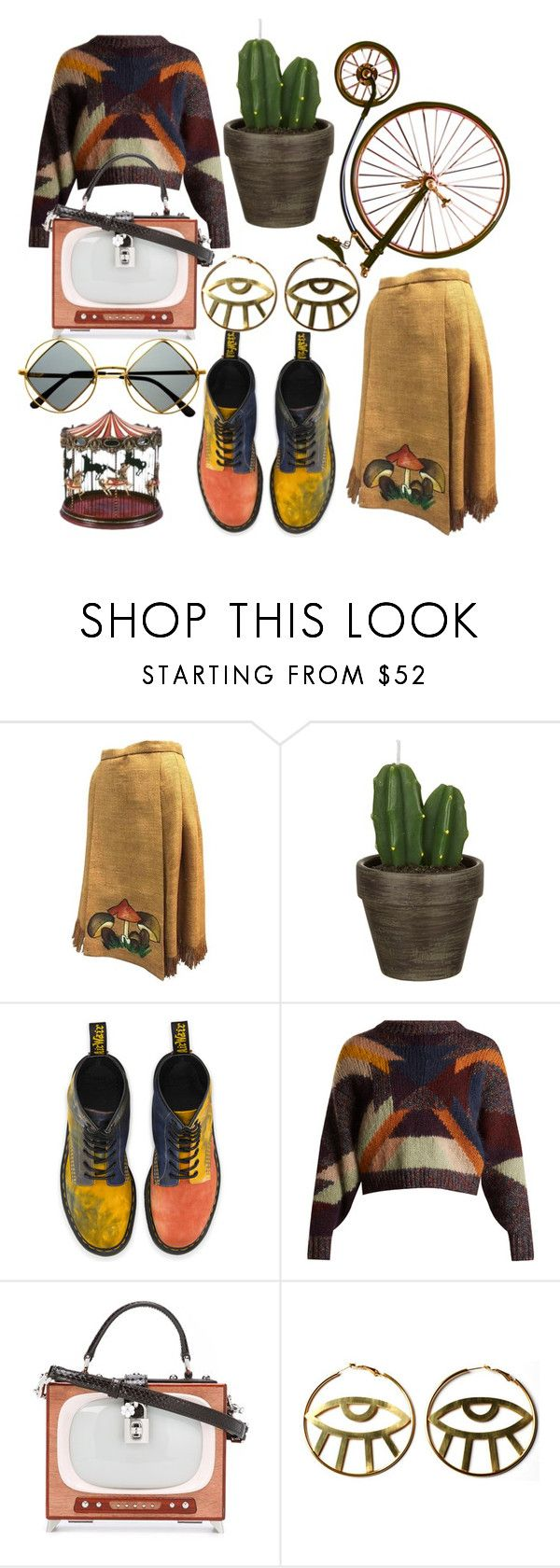 """#PolyPresents: Last-Minute Gifts"" by fayyyeah ❤ liked on Polyvore featuring John Lewis, Dr. Martens, Isabel Marant, Dolce&Gabbana, Retrò, contestentry and polyPresents"