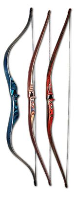 Saving up for a new bow.... I LOVE the middle one!!!!! Get Recurve Bows at https://www.etsy.com/shop/ArcherySky