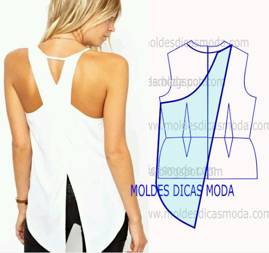 DETALHES DE MODELAGEM DE COSTAS -1 - Moldes Moda por Medida
