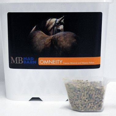 Omneity P – Equine Mineral and Vitamin Pellet Our cornerstone product, designed to provide the ultimate nutrition for improved hoof quality, absorption of nutrients and improved digestion – now in a convenient pelleted format.