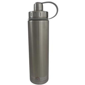 24 Oz Stainless Steel Water Bottle | Triple Insulated | Screw Cap | BOULDER by Eco Vessel