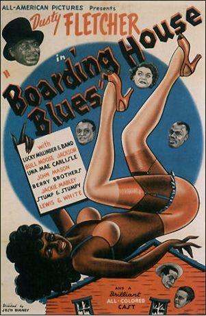 Black Hollywood: Boarding House Blues by Black History Album, via Flickr