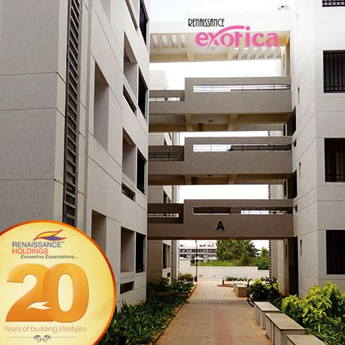 Renaissance Exotica in Indiranagar is the pinnacle of quality homes in the city with neo-classical décor for 2 and 3 bedroom apartments.