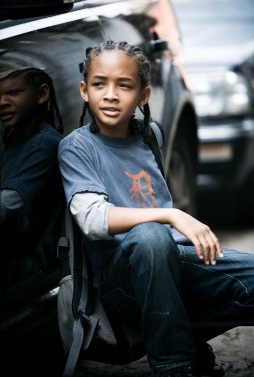Jaden Smith - can't imagine his range by the time he is grown - excellent child actor: