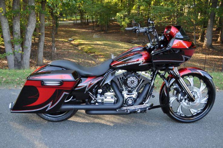 2009 FLTR ROAD GLIDE CUSTOM | Gastonia Used Motorcycles for Sale | The Bike Exchange