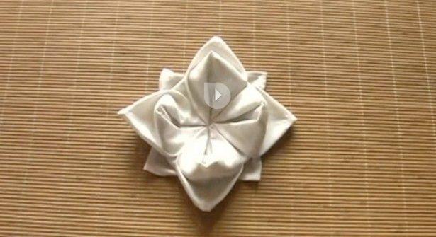 Lotus Avec Serviette : le thème Pliage Serviette Lotus sur Pinterest  Pliage de serviettes