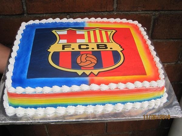 Cake Design Barcelona : F.C. Barcelona cake Birthday Cake Pinterest ...