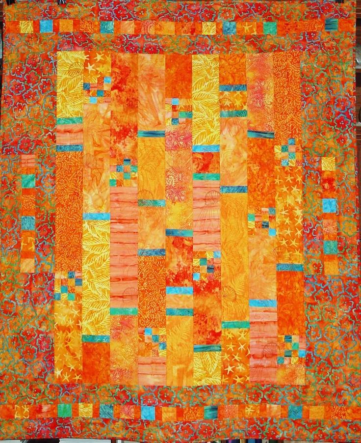 17 Best Ideas About Orange Quilt On Pinterest Scrap