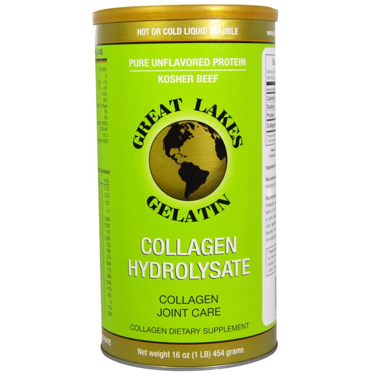 Great Lakes Gelatin Co., Collagen Hydrolysate, Collagen Joint Care, Beef, 16 oz (454 g)