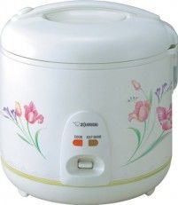 Zojirushi NSRNC18FZ Automatic Rice Cooker and Warmer 10-Cup / 1.8-Liter, Spring Bouquet