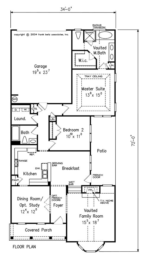 68 best Frank Betz House Plans images on Pinterest | Home plans ...