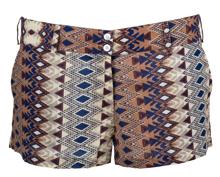TRIBAL PRINTED SHORTS