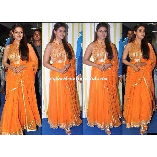 Online Shopping for Latest Fashion ASSIN ORANGE SUIT Bollywood Designer Suit - Salwar Suit by SAREEZ HOUSE - Salwar Suit by SAREEZ HOUSE