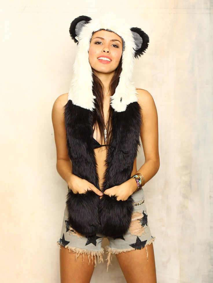 Spirit hood :: ADULTS :: Women's Full Hoods :: Panda