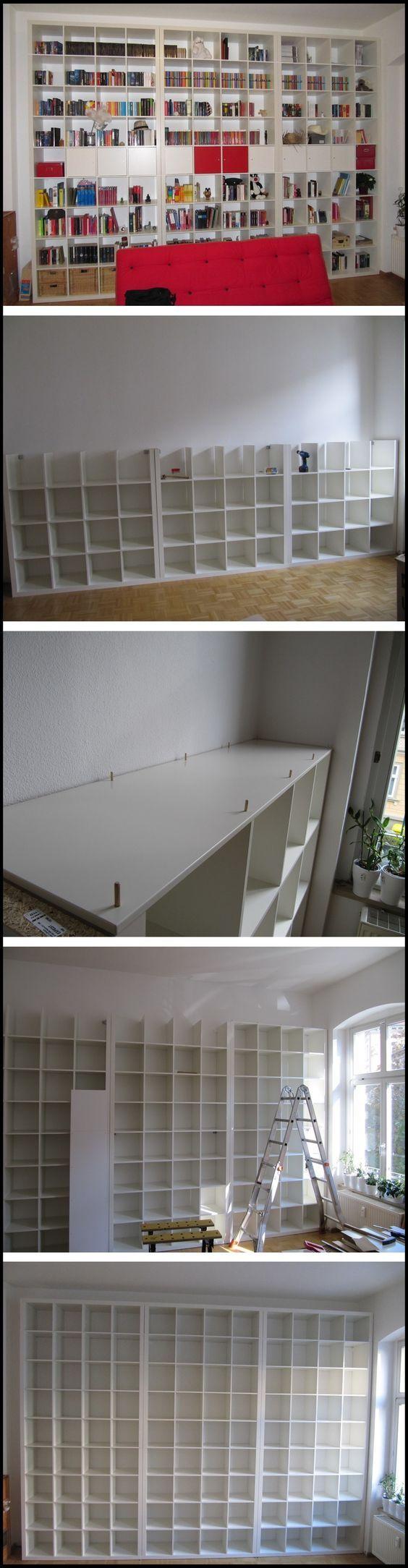 25 best ideas about ikea expedit on pinterest kallax for Ikea expedit wall shelf