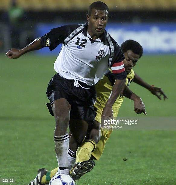 Fiji's Esala Masi heads towards the goal during the Oceania Football Confederation Nations Cup match between Fiji and Vanuatu played at Ericsson...